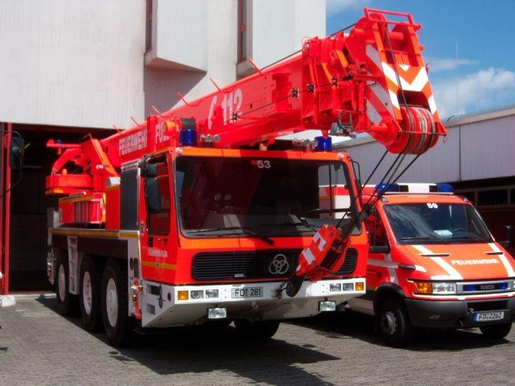 Fulda Feuerwehr Krupp FwK 30