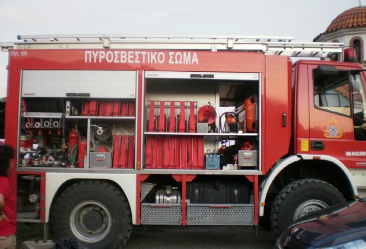 GReek Iveco Brush Fire truck