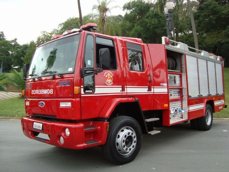 Auto Pump 383 Fire Depart. São Paulo