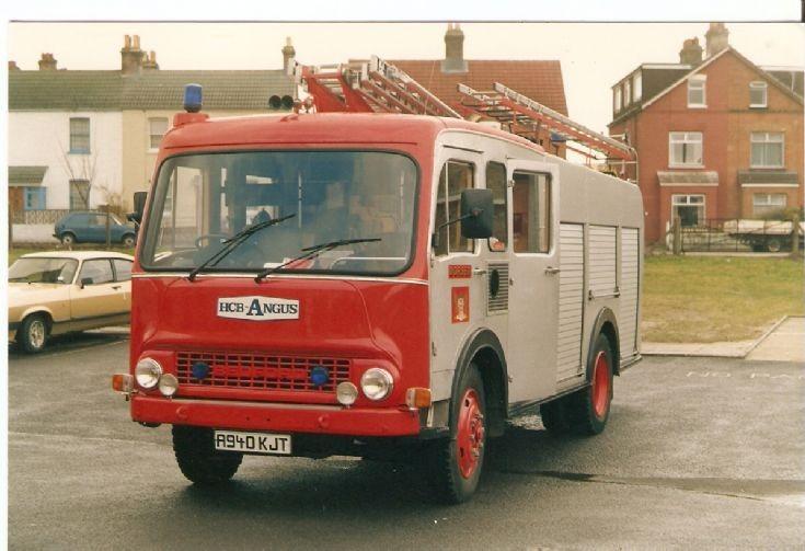 Dorset  Fire Brigade  Bedford TK.