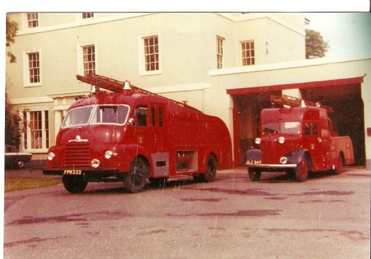 Dorset Fire Brigade Wimbone station