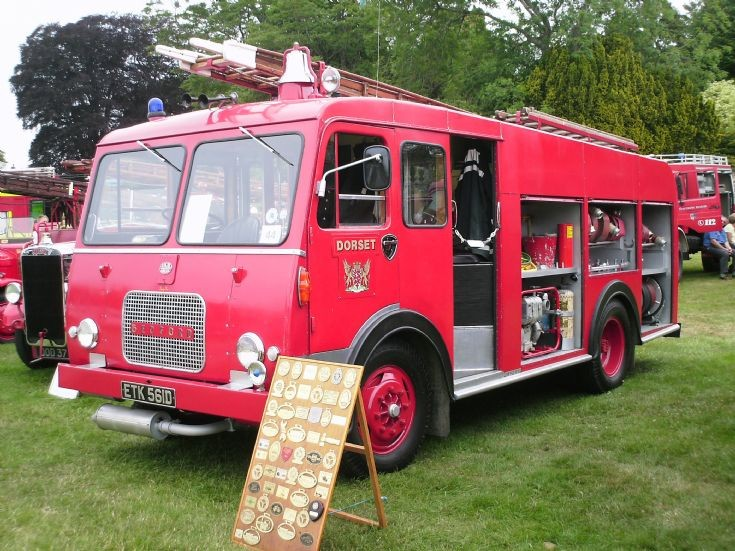 Dorset Bedford Escot Park Fire rally