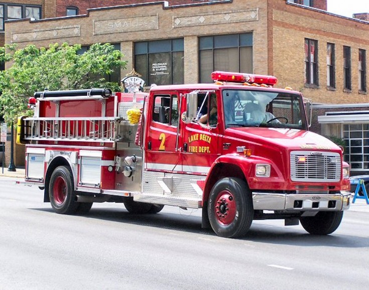 Lake Delta NY Fire department Engine 2