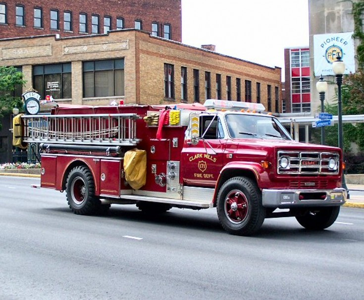 Clark Mills Fire department NY Engine 171