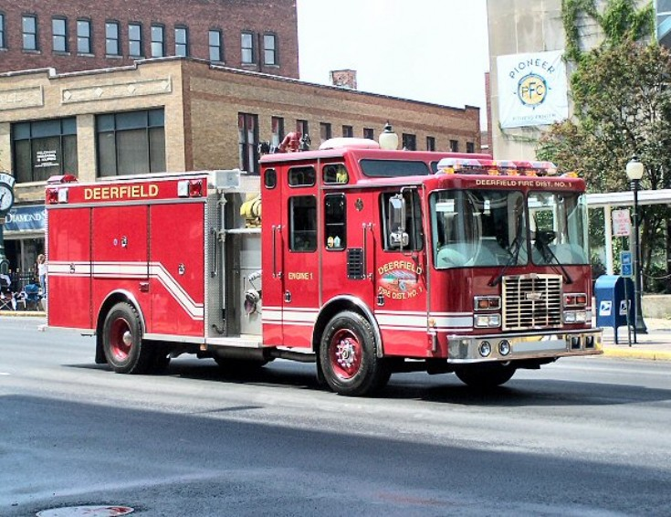 Deerfield Fire department NY USA Engine 801