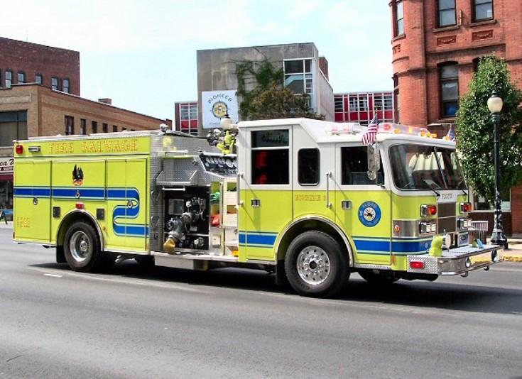 Floyd VFD NY USA Engine 812