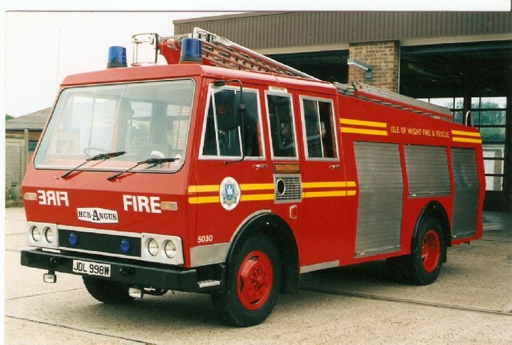 Isle Of Wight Fire Brigade Bedford TK