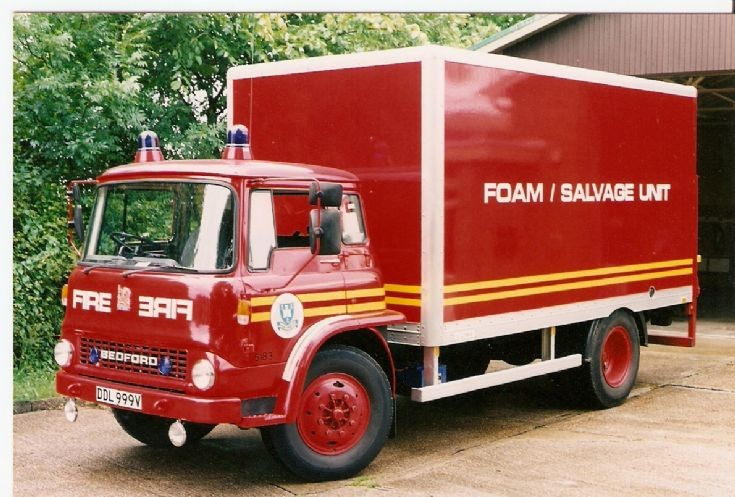 Isle Of Wight FB Bedford Foam Salvage unit