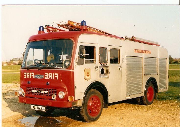 Hampshire Fire Brigade Bedford TK