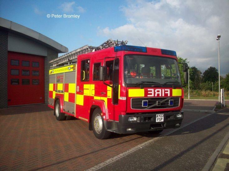 Suffolk Fire & Rescue Newmarket Volvo