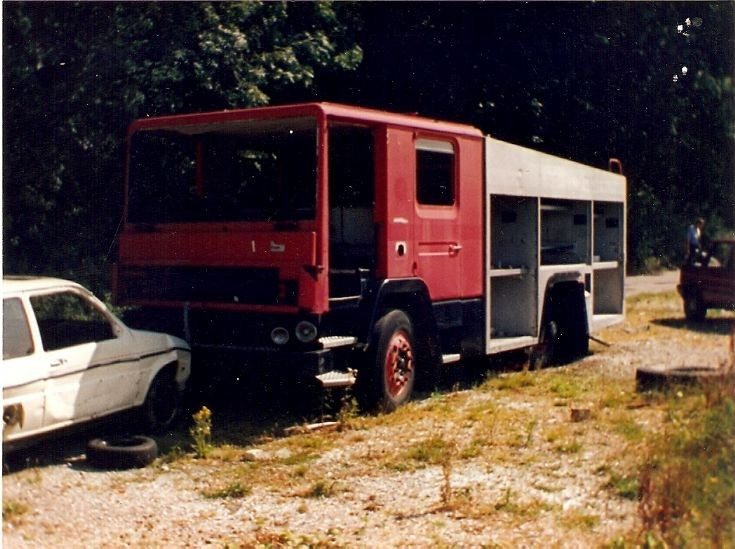 Hampshire Fire And Rescue Service dennis