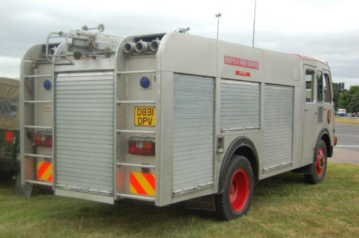 D831 DPV Bedford Water Tender rear