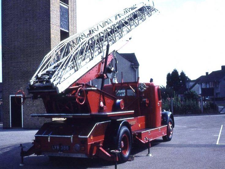 Turntable ladder Weston Super Mare