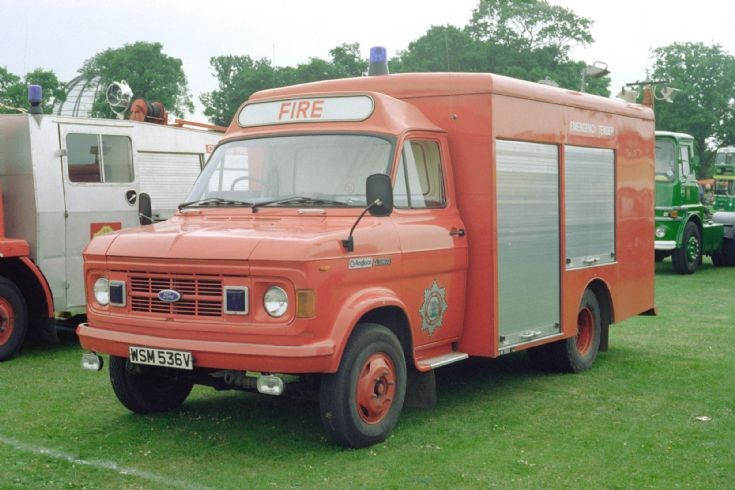 Ford 'A' series ET WSM536T.