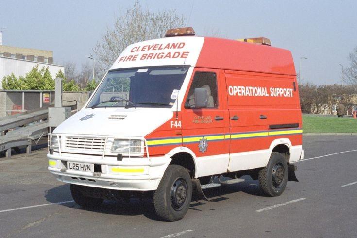 Iveco Van Cleveland Fire Brigade.
