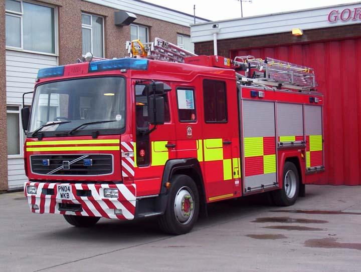 Fire Engines Photos North Wales Uk