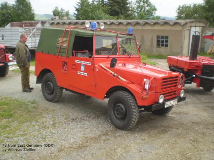 P3 Command Car Germany