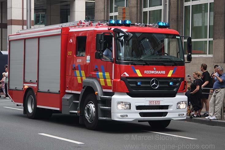 Brandweer Boom Mercedes Benz Axor