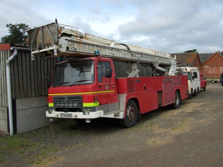 Simon Snorkel ALP. Fire Engine