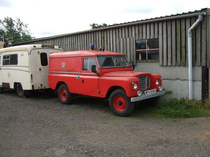 Land Rover Fire Appliance