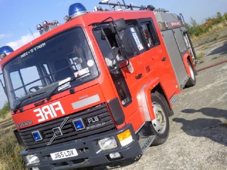 Suffolk Fire & Rescue Service Volvo JI65 LDX