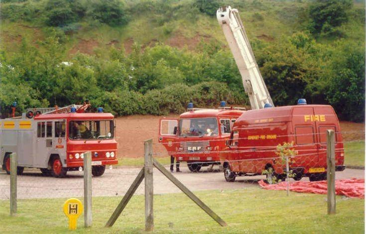 Somerset Fire brigade - Minehead -1987