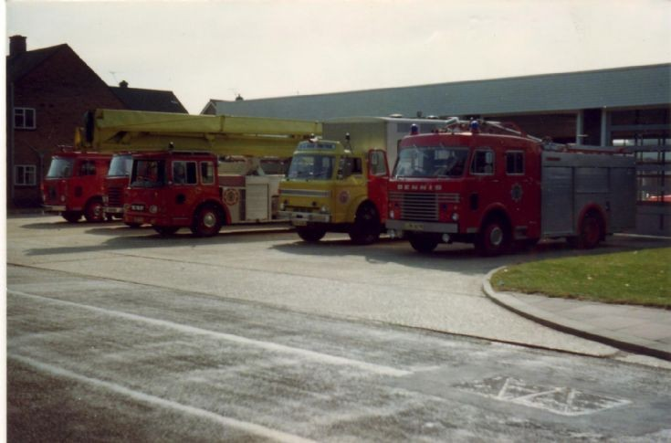 Worthing Fire station 1978