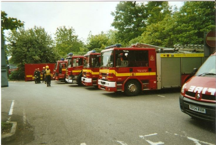 Dorset Fire And Rescue Service  2007