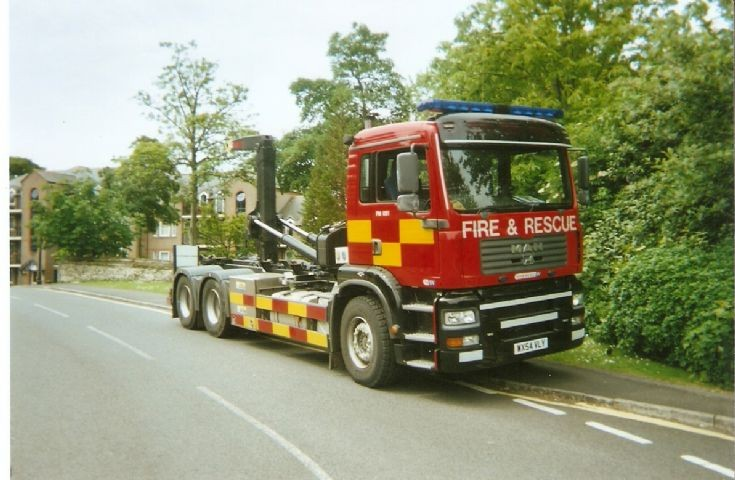Dorset Fire And Rescue Service Prime Mover 2007