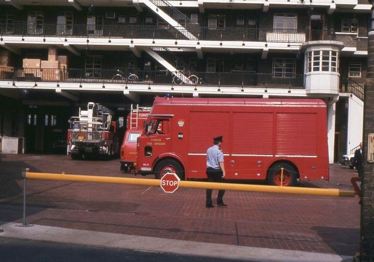 LFB Lambeth Fire station 1983