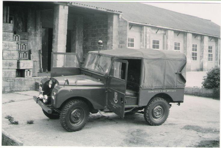 Somerset Pill Land Rover