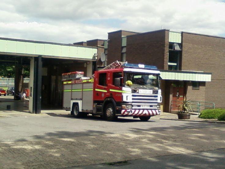 Grangetown Fire Station, Charlie 1 Scania 94D