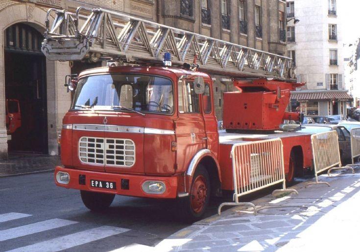 Paris Fire Brigade Berliet Ladder