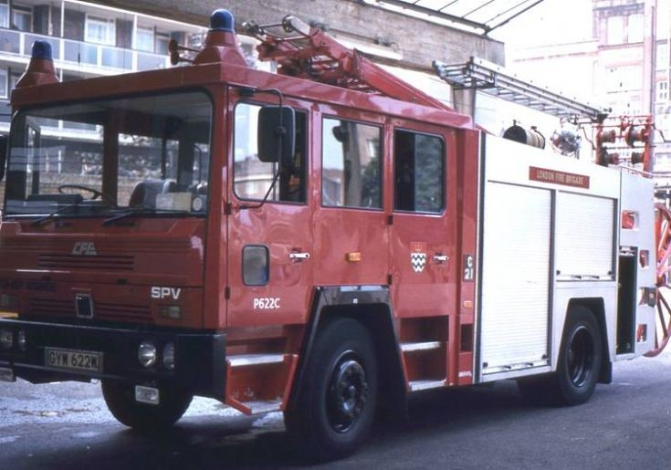 Fire Engines Photos Lfb 1983 Escape Ladder