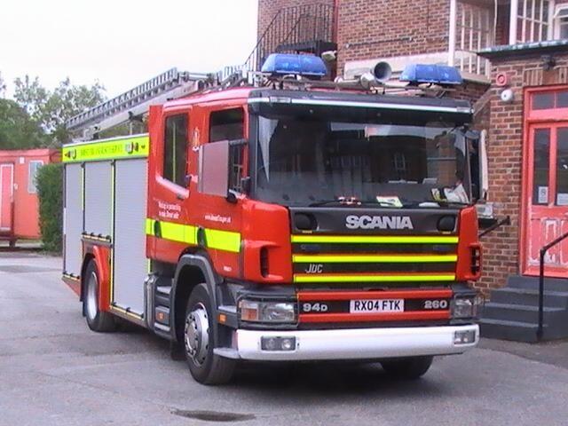 Dorset  Fire & Rescue Service  2007