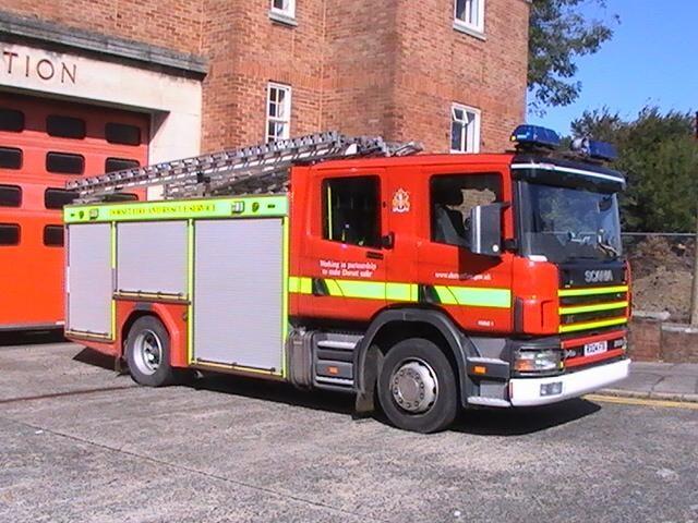 Poole, Dorset Fire & Rescue Service  2007