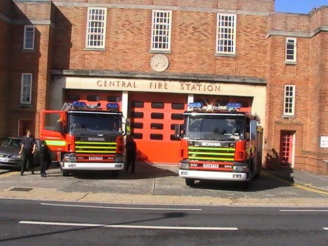 Scanias, Dorset Fire & Rescue Service 2007
