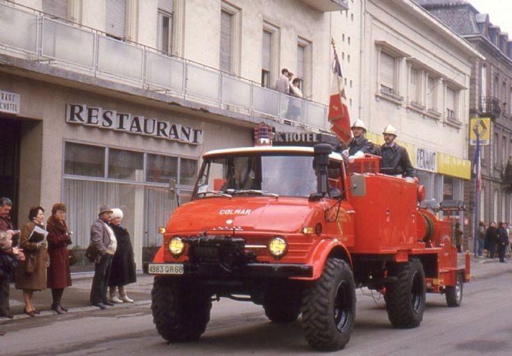 Sapeur Pompiers Colmar Mercedes Unimog