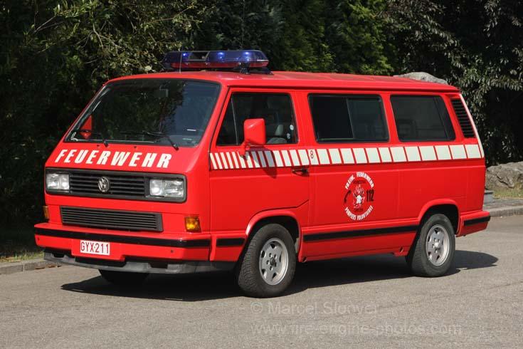 Feuerwehr Lontzen Volkswagen T3