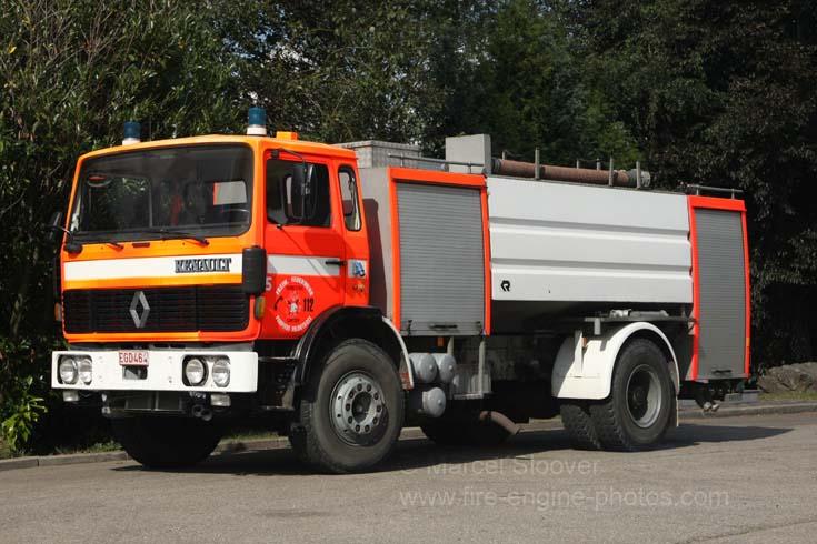 Feuerwehr Lontzen Renault Water carrier
