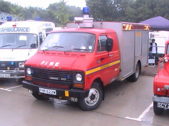 Eastliegh  Fire Show  2007 Dodge Rescue tender