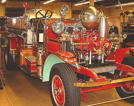 Ahrens-Fox - Baltimore Fire Museum