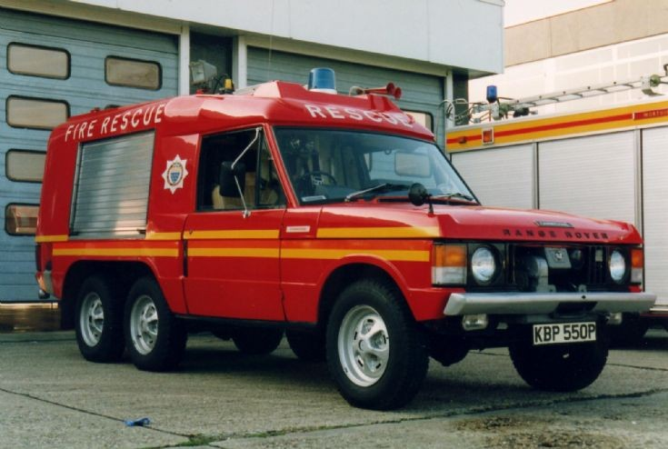 Worthing Rescue Tender - final livery