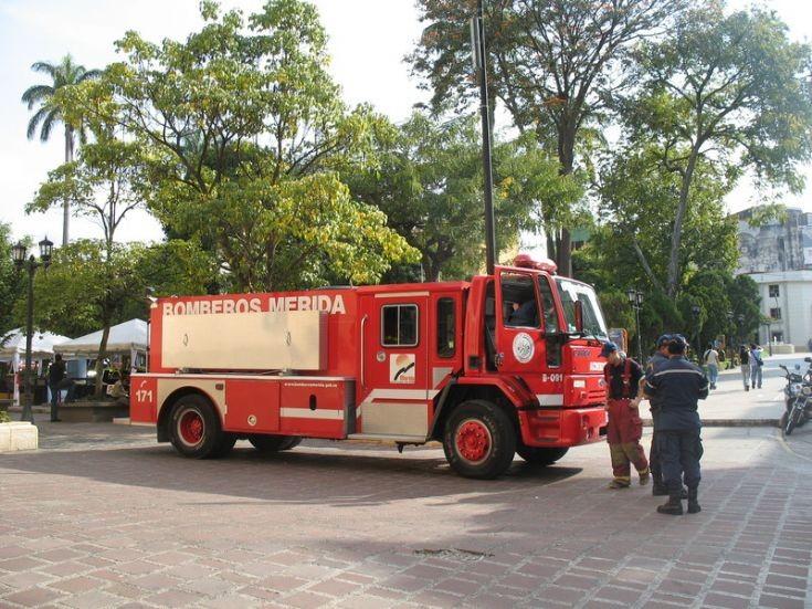 Truck Pump Ford Merida Fire department