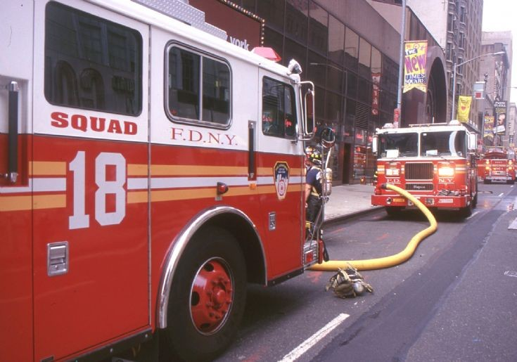 NYFD - 1999 Engines at work
