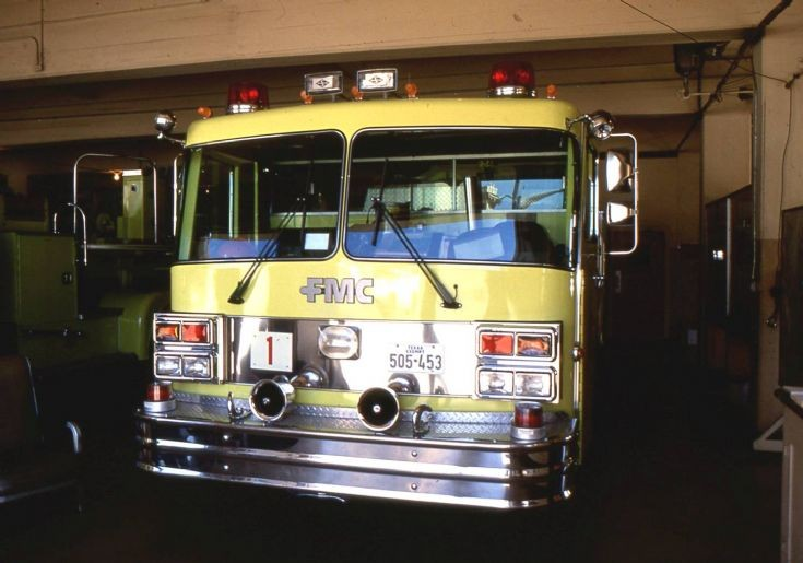 San Antonio Fire Department - 1990 FMC