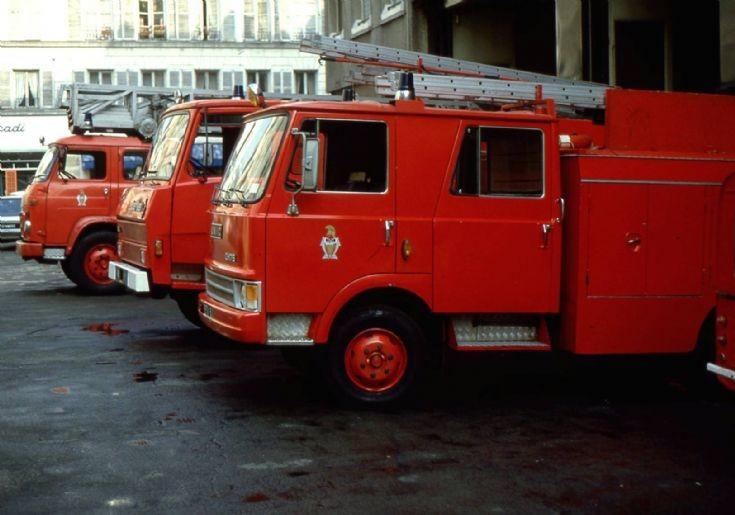 Paris Fire Brigade Light pumpers