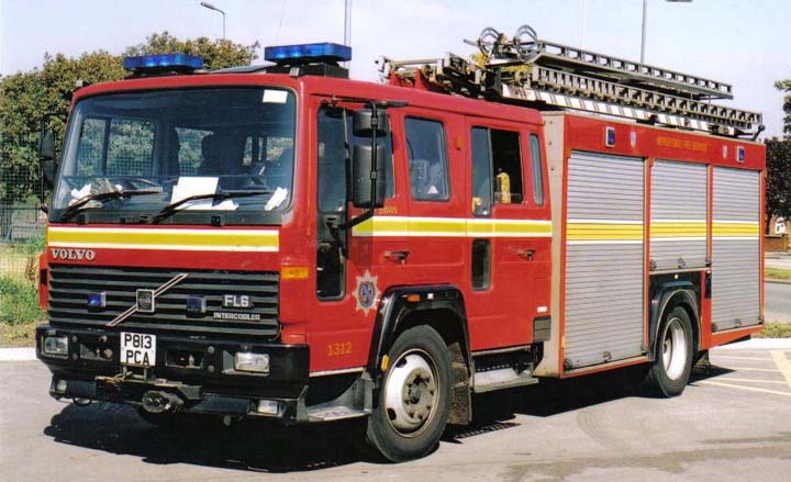 Volvo FL6.14/Saxon - Water Ladder