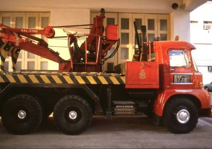 Hong Kong Fire Services Towing truck