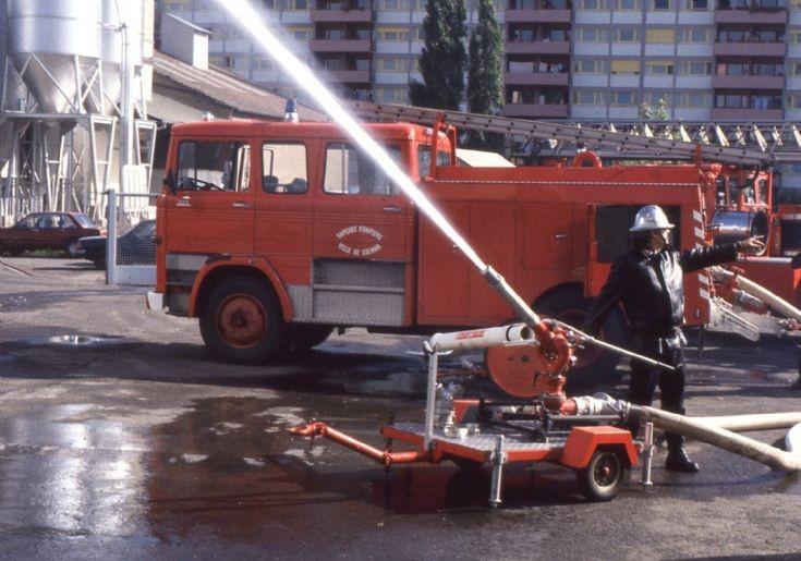 Sapeurs Pompiers Colmar 68 - Mercedes training